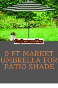 9 ft market umbrella