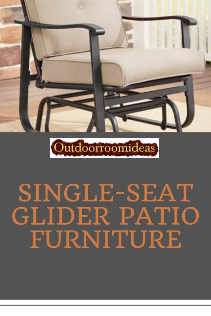 Glider Patio Furniture