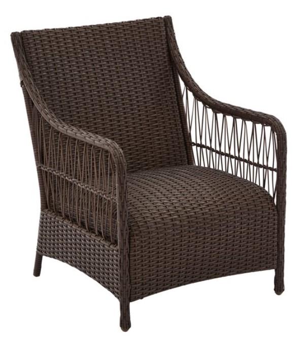 3 Piece Wicker Patio Set-Hartwell Bay Chair