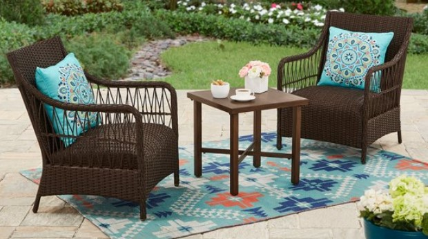 Hartwell Bay 3 Piece Wicker Patio Set Review