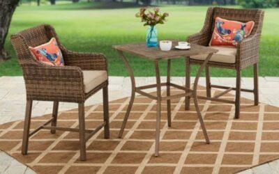 Better Homes & Gardens Hawthorne Park Bar Height Patio Furniture Set Review