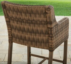 Hawthorne Park high bistro chair back