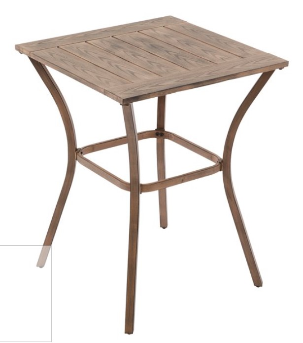 Bar Height Patio Furniture Set-Hawthorne Park high bistro table