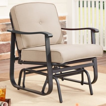 3 Single Seat Glider Patio Furniture Choices