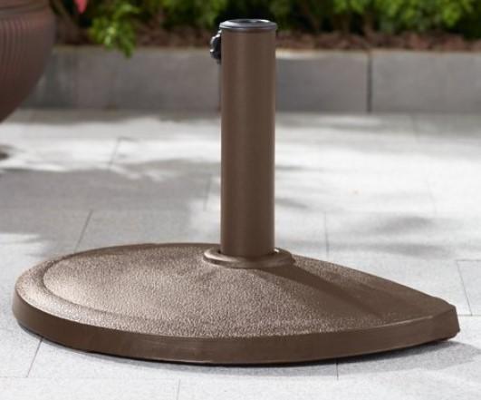 Mainstays Bronze Half-round umbrella base