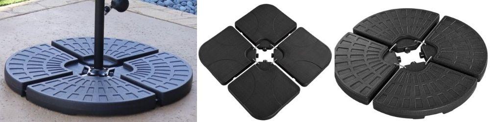 Patio Umbrella Stand Base-Offset umbrella base
