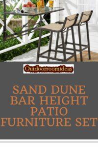 Sand Dune bar height set