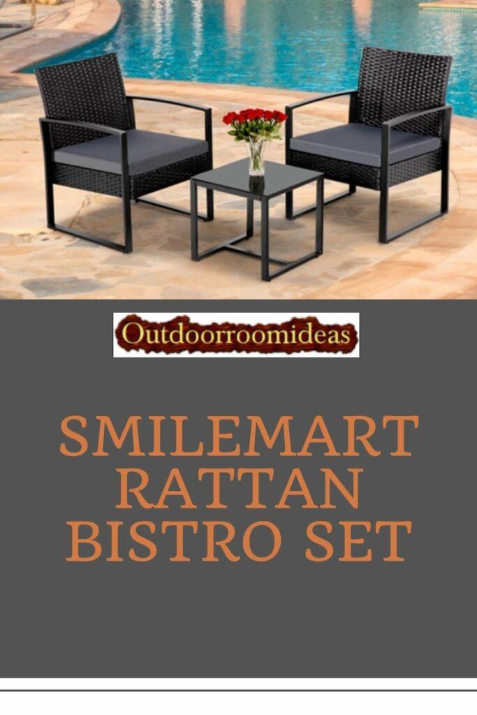 SmileMart bistro set