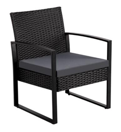 Rattan Bistro Set-SmileMart chair