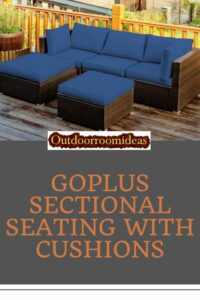 Goplus sectional seating