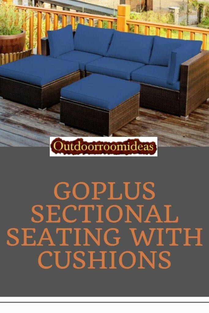 Goplus sectional seating