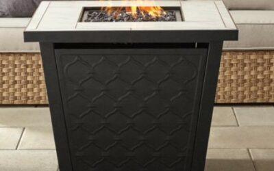 "Better Homes & Gardens River Oaks 30"" Square Propane Fire Pit Table"