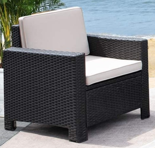 All Weather Wicker Patio Furniture-Vineego chair details