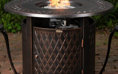 Fire Sense Wagner Round Aluminum Fire Pit Table Review