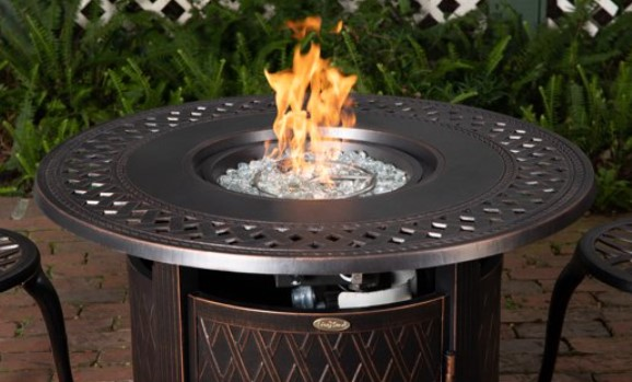 Fire Sense Wagner round fire pit