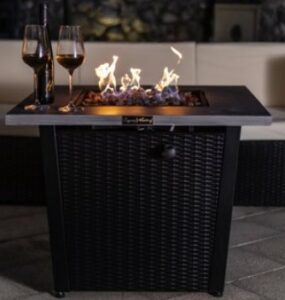 Legacy Heating square fire pit
