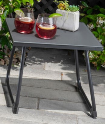 Fire Pit Table and Chairs set-Mod Furniture Montauk side table
