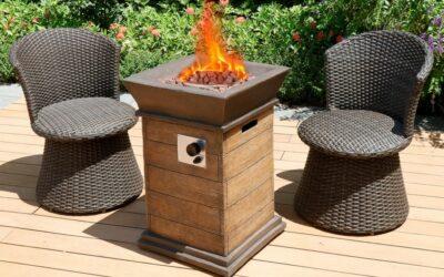 Modern Depo Patio Fire Pit Chat Sets