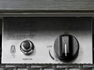 Ove Decors Lambert Fire control panel