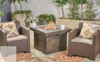 Ezequiel Fire Pit Sets with Chairs