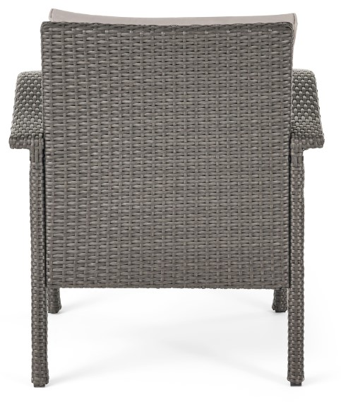 Patio Chat Sets with Fire Pit-Leiyani back of chair
