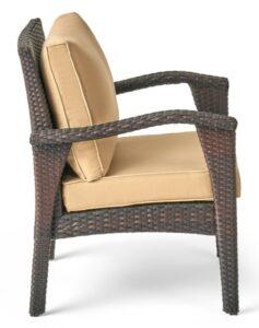 Leiyani chair in brown