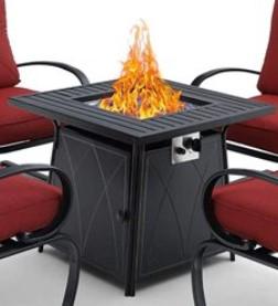 MF Studio gas fire pit